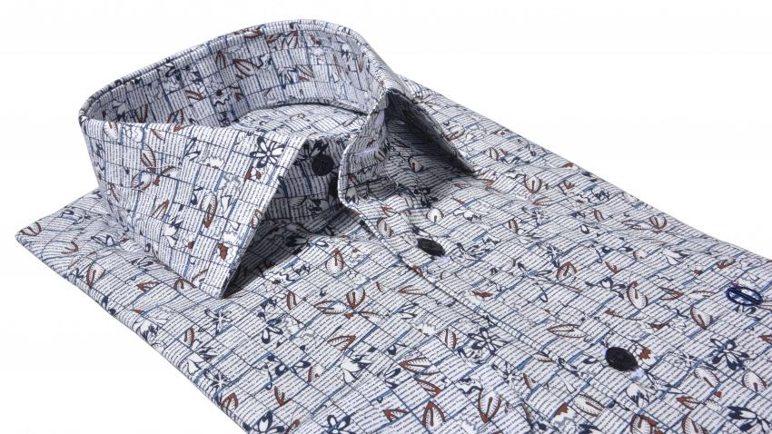Výrazná Slim Fit košeľa s printom