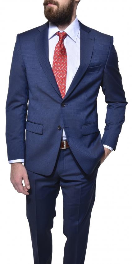 Modrý Slim Fit oblek