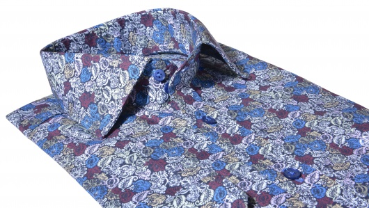 Flower patterned Extra Slim Fit shirt