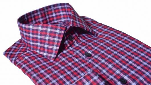 Voľnočasová károvaná Extra Slim Fit košeľa