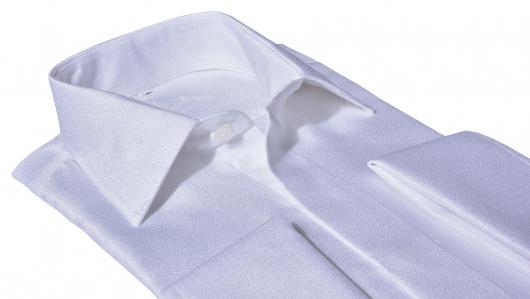 LIMITED EDITION biela spoločenská Slim Fit košeľa