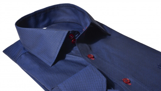 Dark blue Classic Fit shirt
