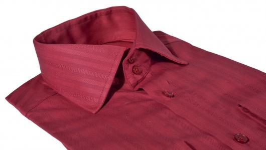 LIMITED EDITION bordová Extra Slim Fit košeľa