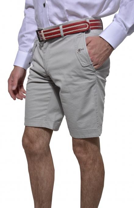 Šedé krátke nohavice
