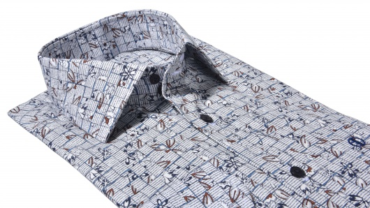 Bold Slim Fit printed shirt
