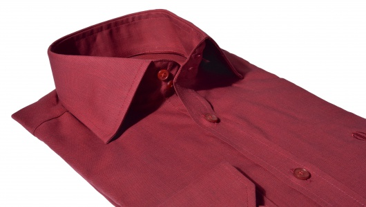 Bordová Extra Slim Fit košeľa