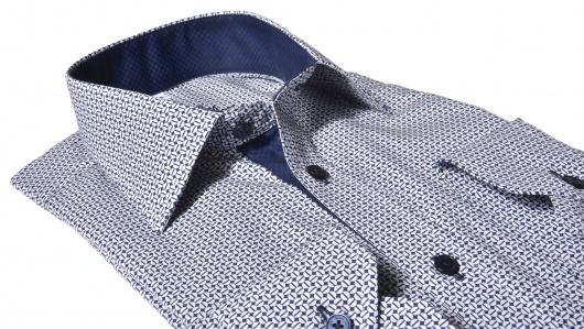 Luxury Line Slim Fit košeľa s printom