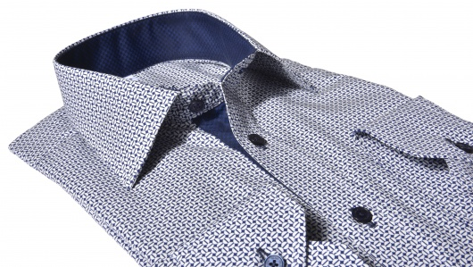 Luxury Line Slim Fit printed shirt