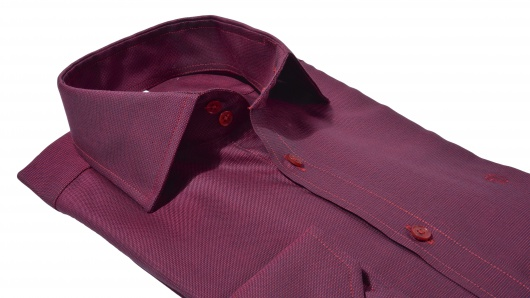Burgundy Extra Slim Fit shirt
