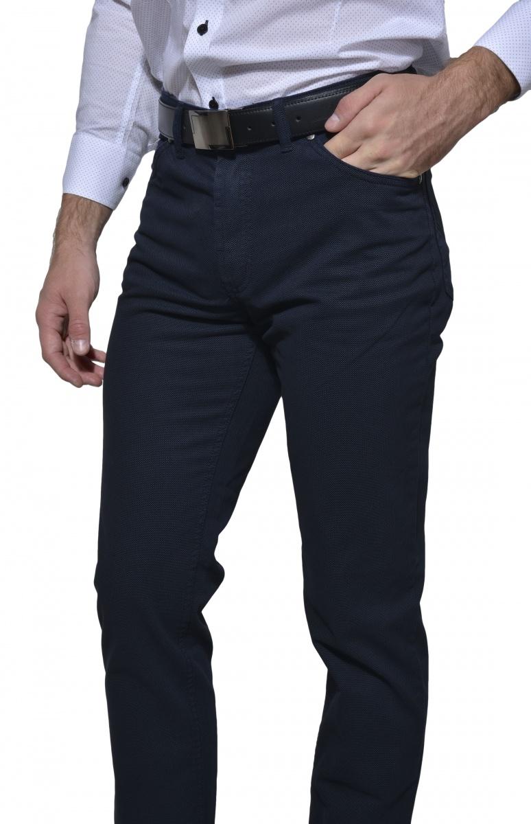 Tmavošedé päťvreckové nohavice