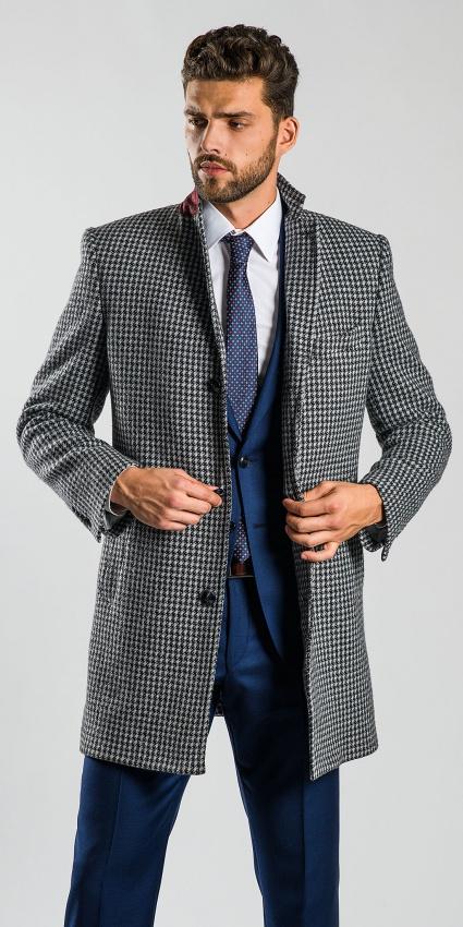 Zimný flaušový kabát