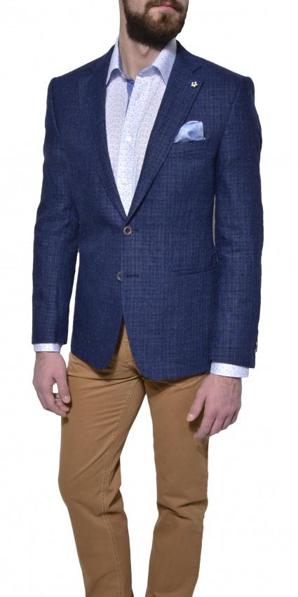 LIMITED EDITION blue linen blazer