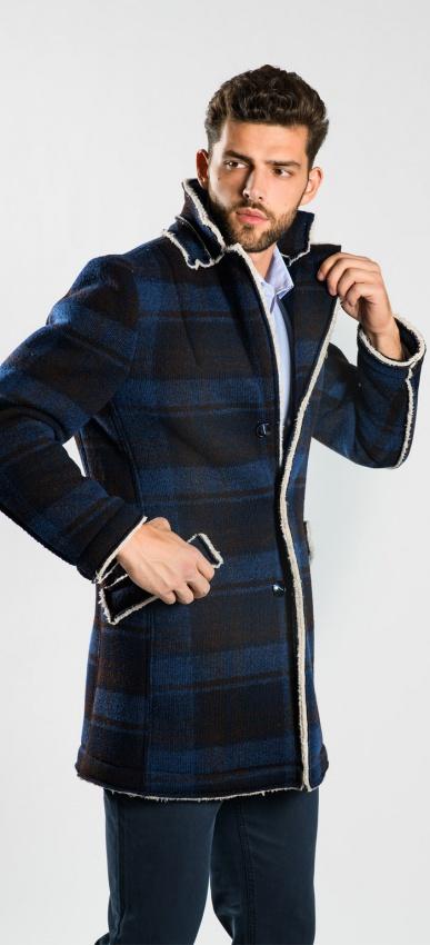 Károvaný kabát