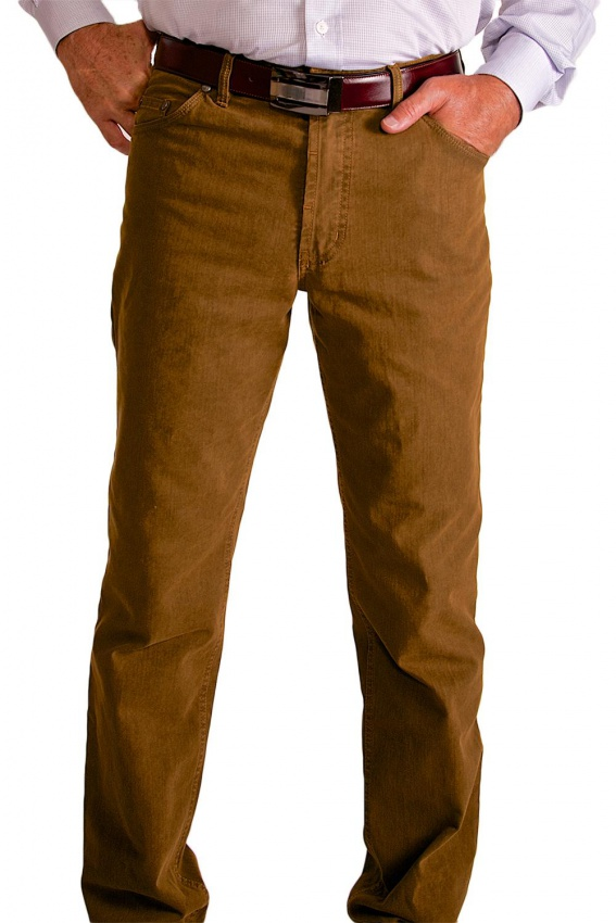 Casual brown trousers