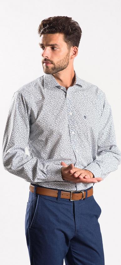 Voľnočasová Slim Fit košeľa
