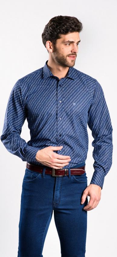 Výrazná voľnočasová Extra Slim Fit košeľa rady basic