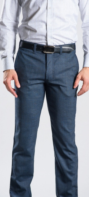 Grey casual chinos
