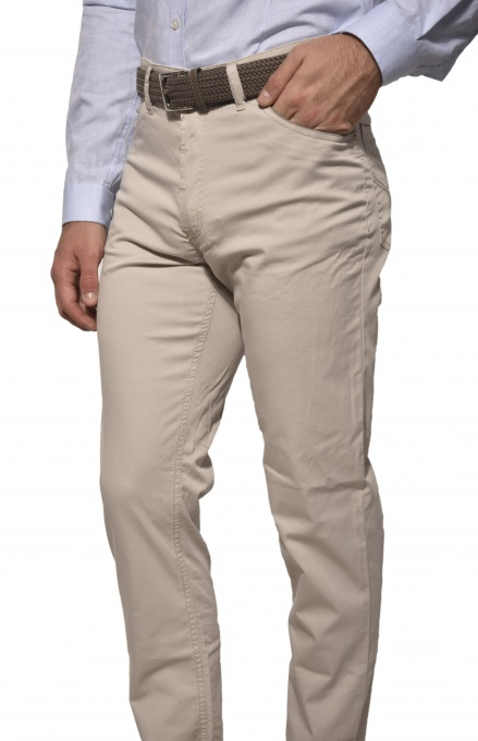 Khaki causal trousers