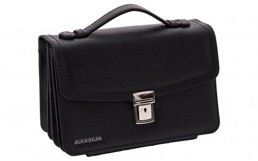 Malá príručná kožená taška