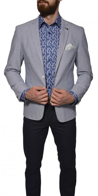Light blue basic blazer