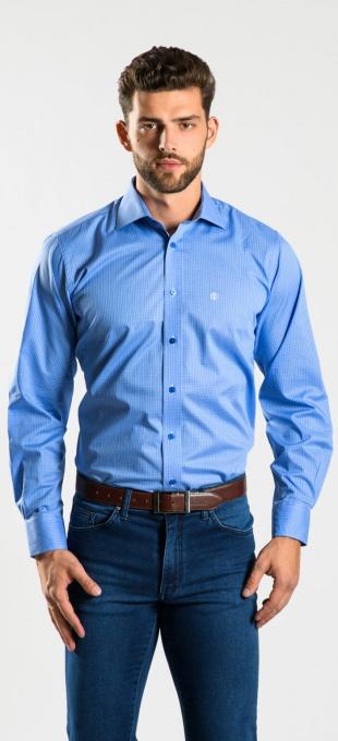 Modrá Slim Fit košeľa