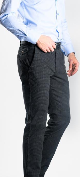 Tmavošedé chinos nohavice