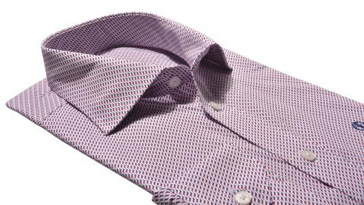 Slim Fit business printed shirt