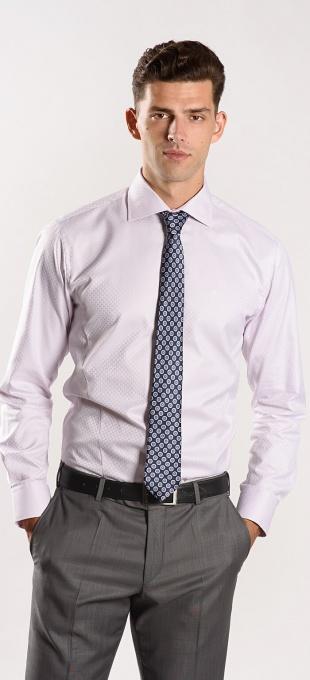 Pink Extra Slim Fit shirt