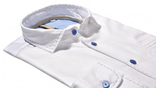 Biela Extra Slim Fit Oxforská košeľa