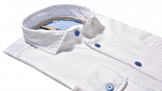 White Extra Slim Fit Oxford Shirt