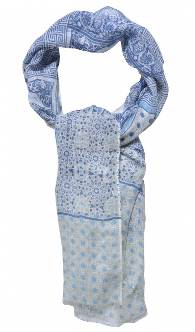 Hand made linen scarf