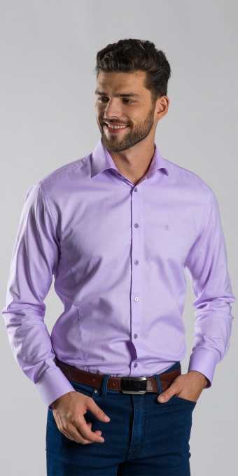 Purple Extra Slim Fit Business shirt