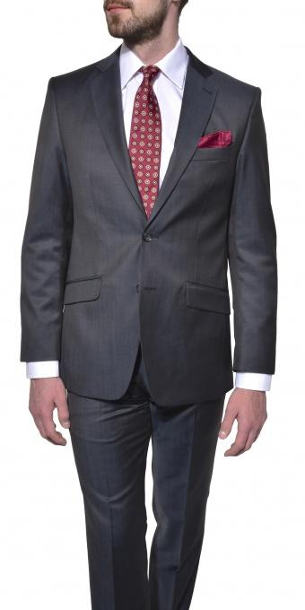 Grey wool Slim Fit suit