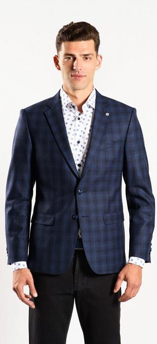 LIMITED EDITION Blue checkered blazer