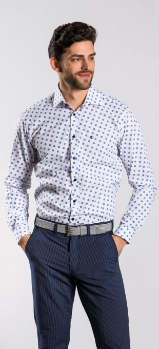 Voľnočasová Extra Slim Fit košeľa