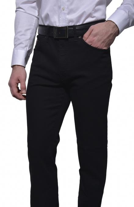 Čierne jeansy