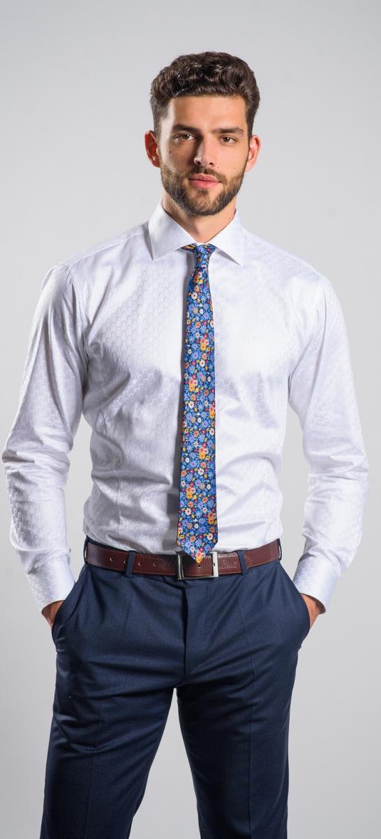 LIMITED EDITION biela Classic Fit košeľa