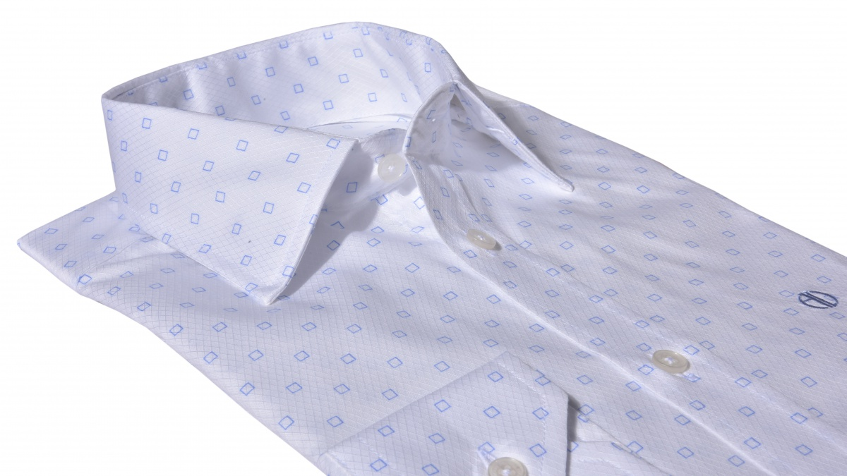 White Extra Slim Fit business shirt