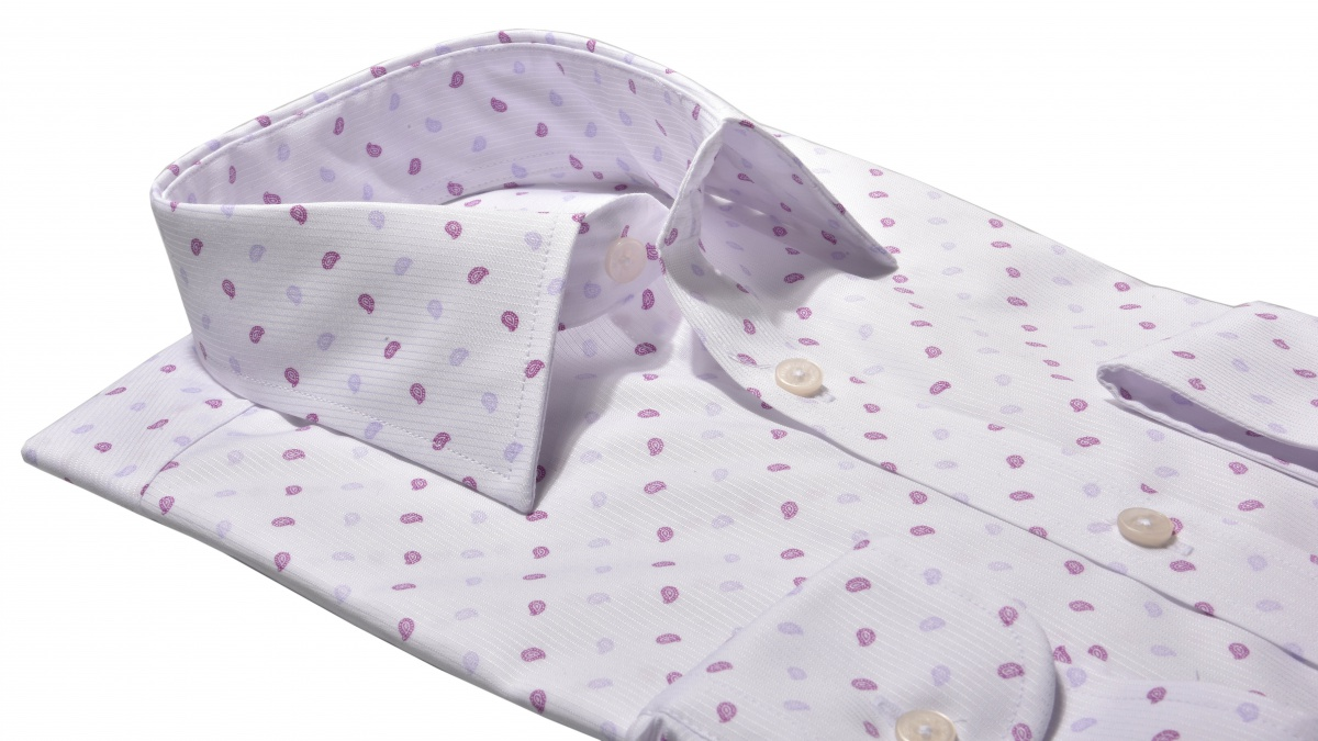 LIMITED EDITION patterned Extra Slim Fit shirt