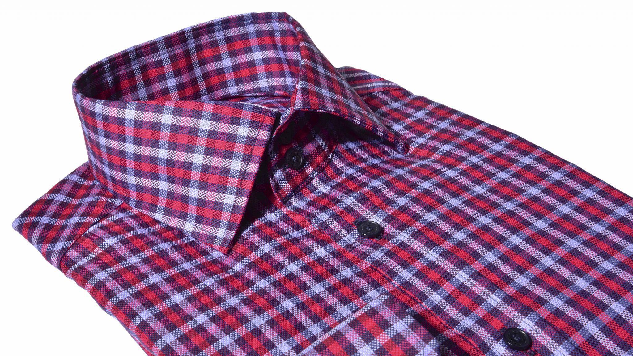 50e162115072 Voľnočasová károvaná Extra Slim Fit košeľa - Košele - E-shop ...